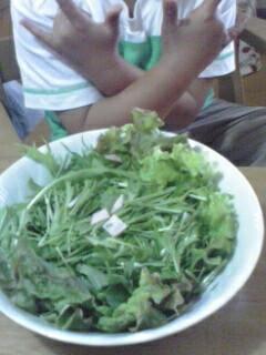 サラダだよ